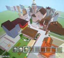 La Cellera amb Minecraft